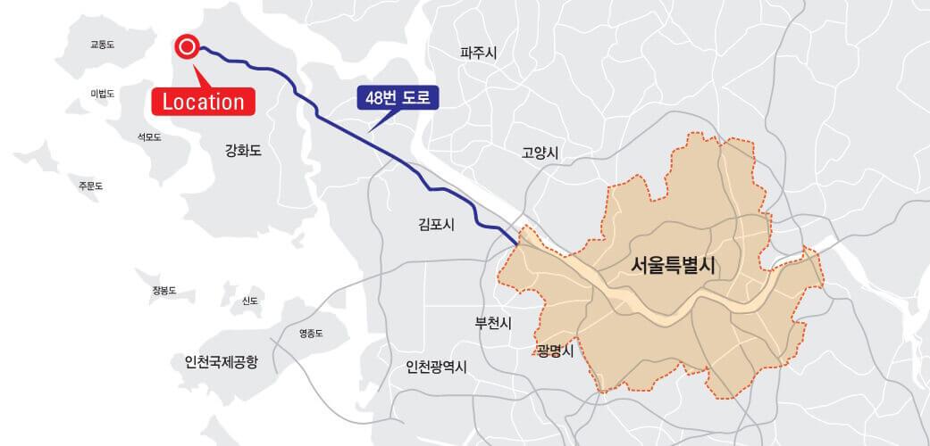 한국기독교성지문화원 입지