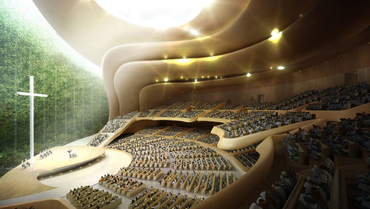 한국기독교성지문화원 예배당