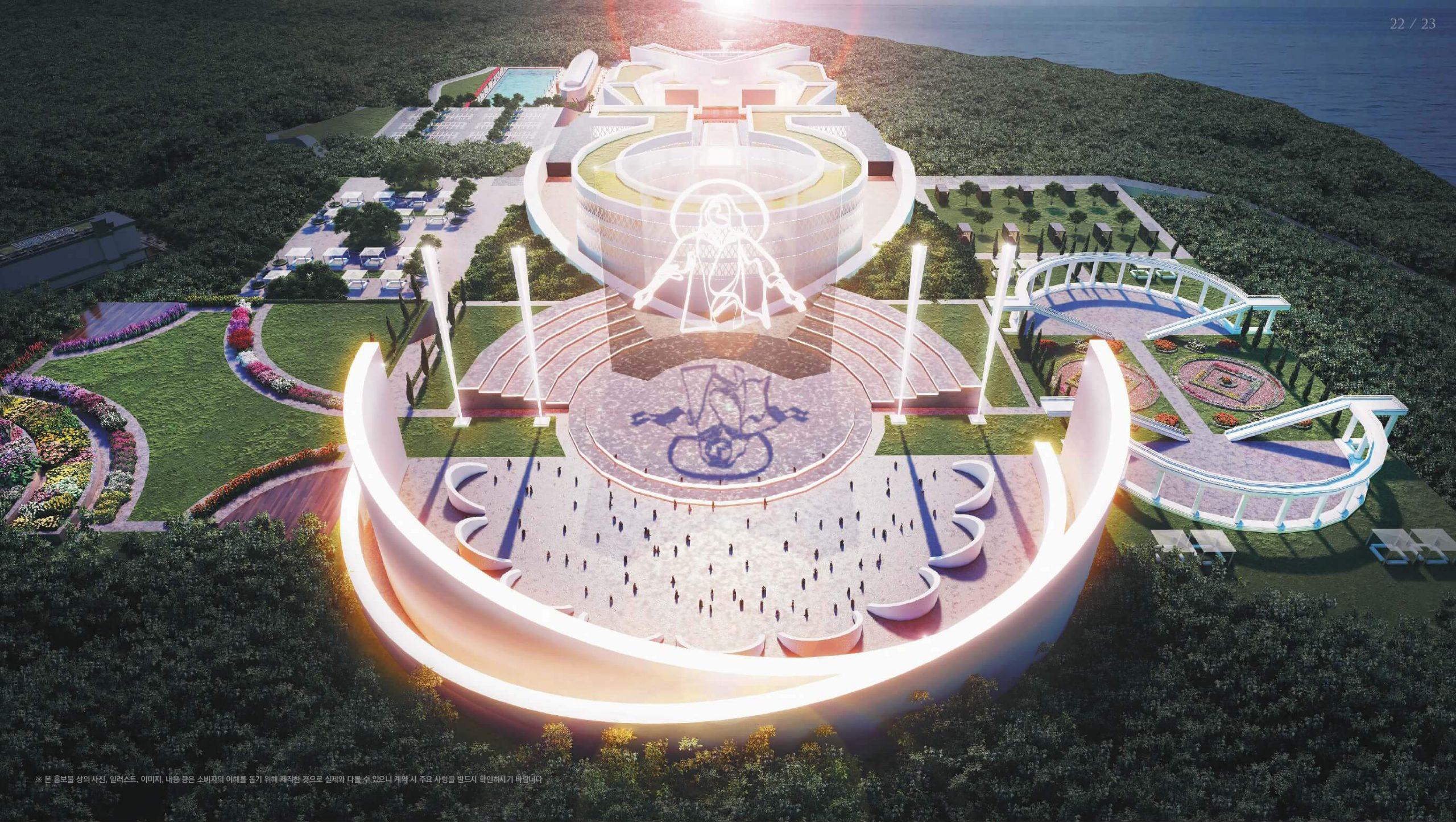 한국기독교성지문화원 빛과 부활의 전당 이미지 (1)